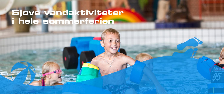 Sjove vandaktiviteter i Svendborg Svømmeland