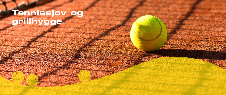 Tennissjov og grillhygge