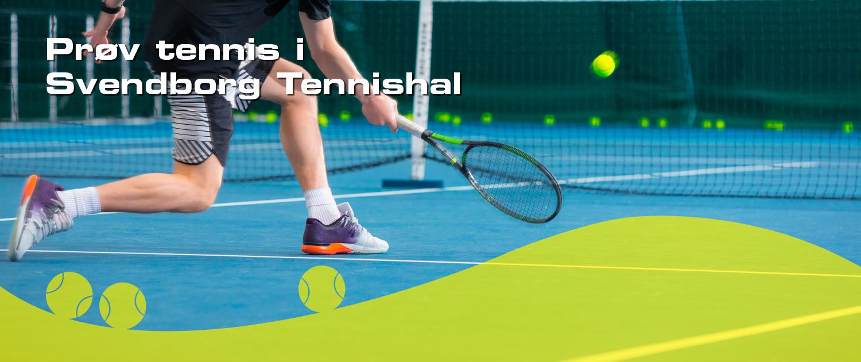 Tennis i Svendborg tennishal